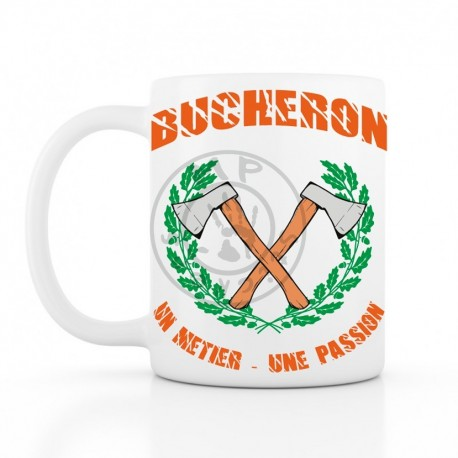 BUCHERON METIER PASSION Mug 330ml (11oz) blanc céramique top qualité