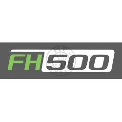 Stickers FH 500 en 2 couleurs