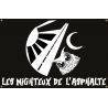 Drapeau Les Nighteux de l'Asphalte OFFICIEL