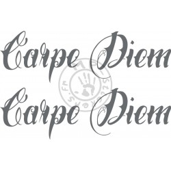 Sticker de vitres CARPE DIEM 500x150 mm (la paire)