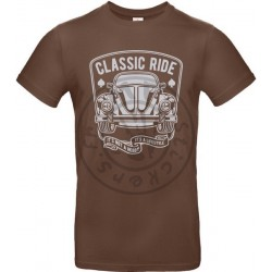 T-Shirt homme The Classic Ride Coccinelle Vintage version 2