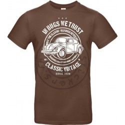T-Shirt homme In Bugs We Trust Coccinelle Vintage