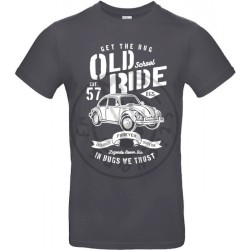 T-Shirt homme Old School Ride Coccinelle Vintage