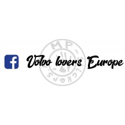 Inscription Volvo lovers Europe avec logo facebook