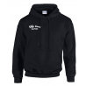 Sweat capuche Noir Volvo lovers Europe version 2