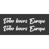 Stickers de vitre Volvo lovers Europe