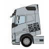 Stickers VOLVO TRUCKS 1928 SWEDEN Version FH Edition 2 (la paire)