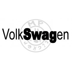 Sticker VolkSWAGen JDM
