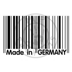 Code barres MADE IN GERMANY