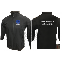 Veste softshell HORIZON THE FRENCH Truckers intérieur micro polaire