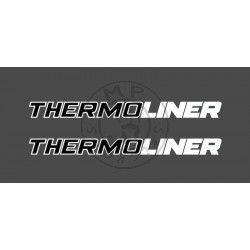 Sticker de vitres THERMOLINER 2 couleurs 600x50 mm (la paire)