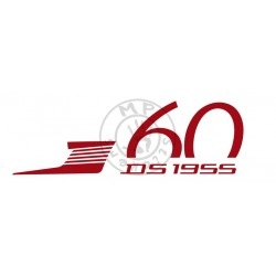 Sticker DS 60 ans