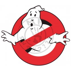 Sticker GHOSTBUSTER impression quadri