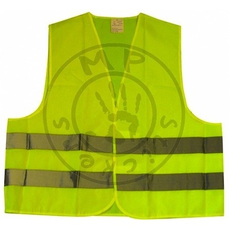 gilet de s curit jaune fluo personnalisable 1er prix mp stickers. Black Bedroom Furniture Sets. Home Design Ideas